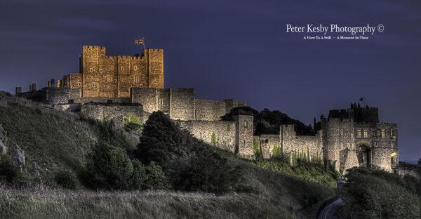 Dover Castle - Floodlit
