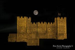 Dover Castle - Full Moon