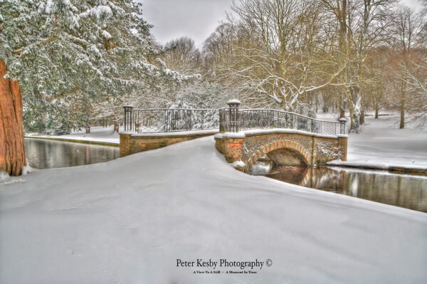 Kearsney Abbey - Snow #1