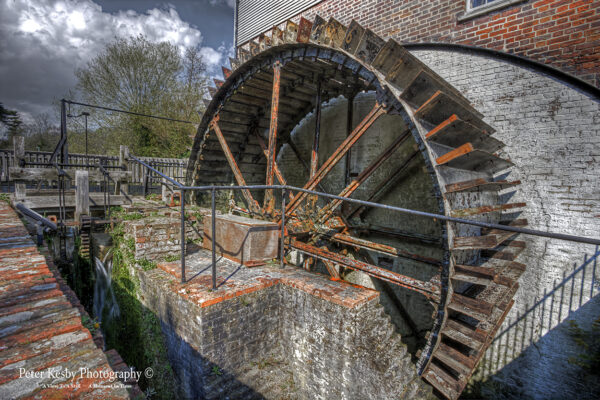 Crabble Corn Mill - The Big Wheel