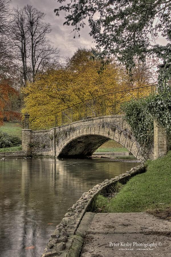 Kearsney Abbey - Bridge - Autumn