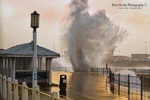 Dover promenade - Big Storm