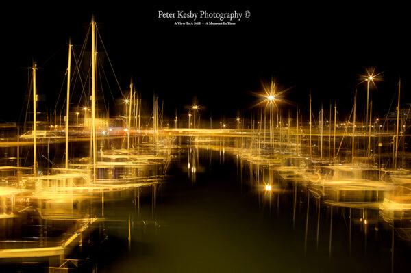 Granville Dock - Night - Artistic Blur