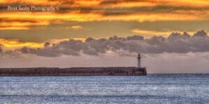 Dover Breakwater - Sunrise - Panoramic