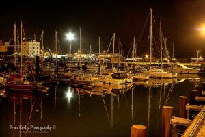Wellington Dock At Night