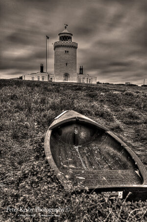 South Foreland Lighthouse With Dingy