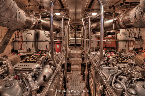 Engine Room IN The Dover lifeboat