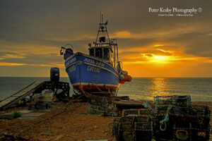 Deal - Sunrise - Fishing Boat