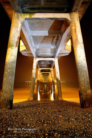 Painting With Light - Under Deal Pier