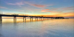 Deal Pier - Sunrise - Panoramic - #1