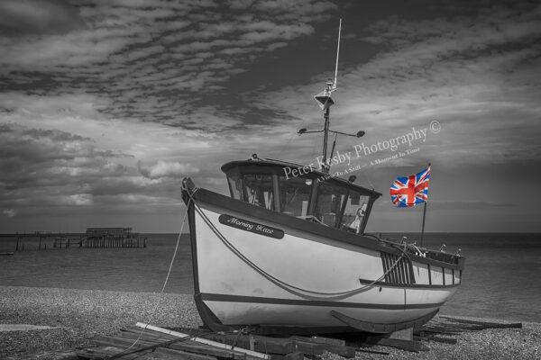 Deal Fishing Boat - Union Jack