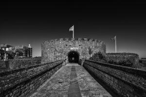 Deal Castle - Black & White