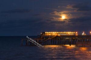 Deal Pier - Full Moon