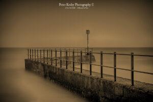 Ramsgate - Groyne - Sepia