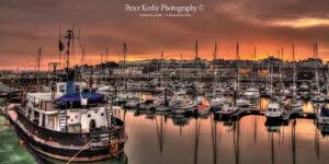 Ramsgate Harbour - Sunset - Panoramic