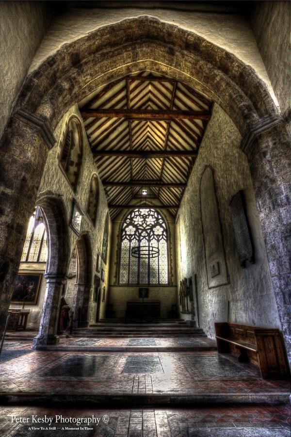 Inside St Peters - Sandwich