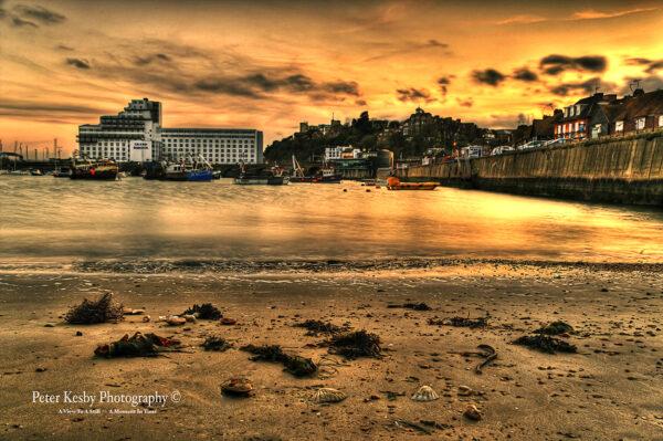 Shells - Folkestone Harbour - Sunset