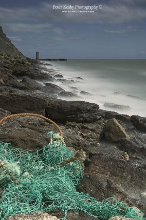 Fishing Net - Rocks - Long exposure