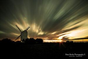 Chillenden Windmill - Sunset - #1