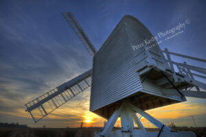 Chillenden Windmill - Sunset- #7