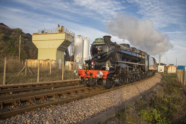 LMS Class 5mt 4-6-0 no 44871 Stanier Black Five