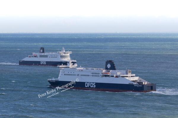 Dunkurque Seaways Crossing Dover Seaways