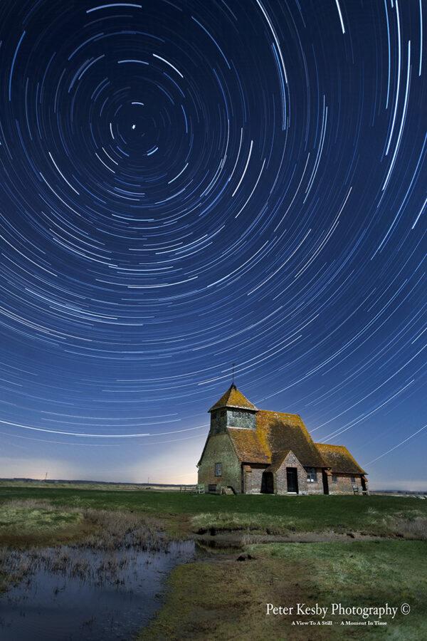 St Thomas A Becket - Star Trails