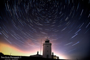 South Foreland Lighthouse - Star Trails