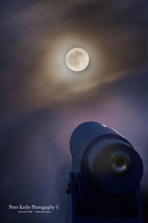 Telescope - Blue Moon