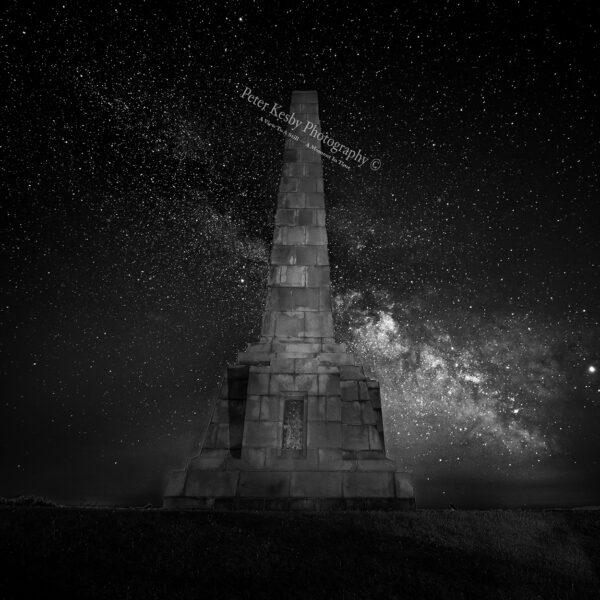 Milky Way at Dover Patrol Memorial
