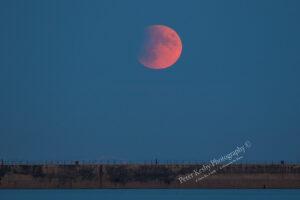 Lunar Eclipse - Dover Breakwater - #2