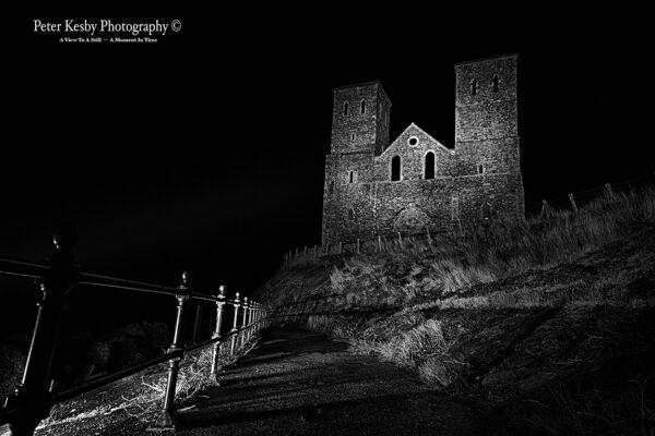 Reculver Towers - Night