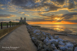 Reculver Towers - Sunset - #6