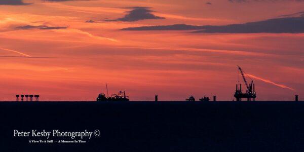 Reculver - Horizon - Sunset