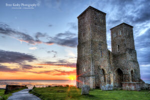 Reculver Towers - Sunset - #1