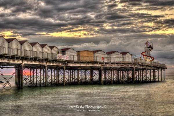 Herne Bay Pier - Sunset