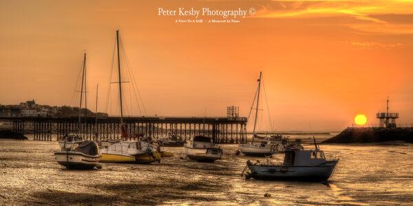 Herne Bay Harbour - Sunset