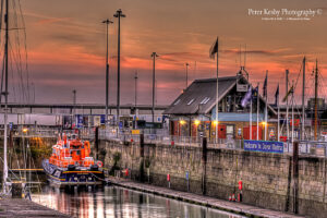 RNLI - Dover Lifeboat - Sunset