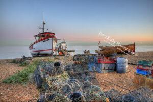 Deal At Dusk - Fishing Scene #2