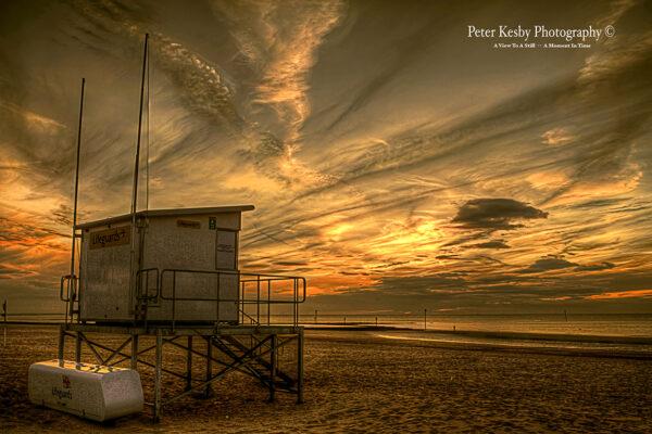 Lifeguard Hut - Margate - Sunset