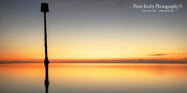 Groyne - Margate - Sunset - Panoramic
