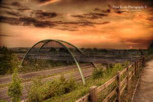 Bridle Way Bridge - Sunset