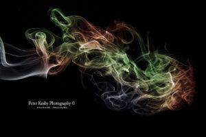 Smoke - Abstract - #8