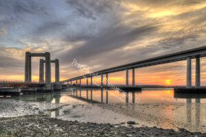 Sheppey Crossing - Sunset - #1
