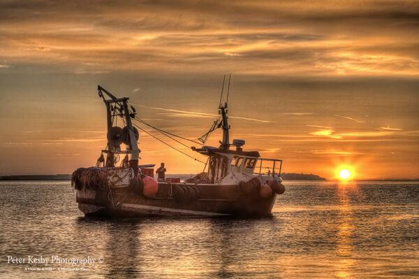 Fishing Boat - Whitstable - Sunset - #1