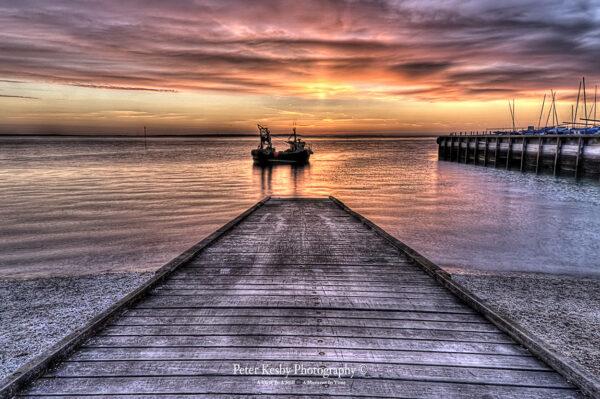 Fishing Boat - Whitstable - Sunset - #2
