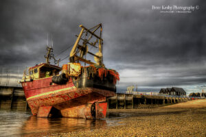 Low Tide - Fishing Boat - Whitstable