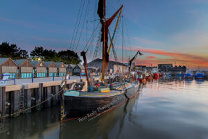 Whitstable Harbour - Sunset #2