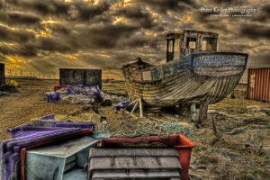 Fishing Scene - Dungeness - #4