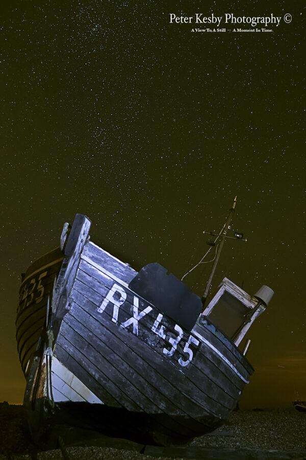 Fishing Boat - Dungeness - Night